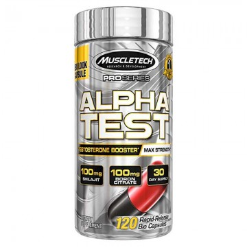 Muscletech Alpha Test Pro Series - 120 Capsules