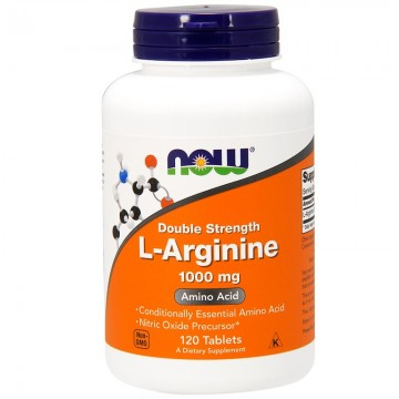 Now Foods L-Arginine 1000mg - 120 Tablets