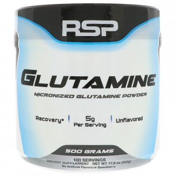 RSP Nutrition - Micronized Glutamine Powder - 17.6 oz 500 g
