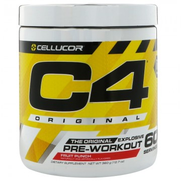 Cellucor C4 Original Explosive Pre-Workout,12.7 oz (360 g) 60 ser