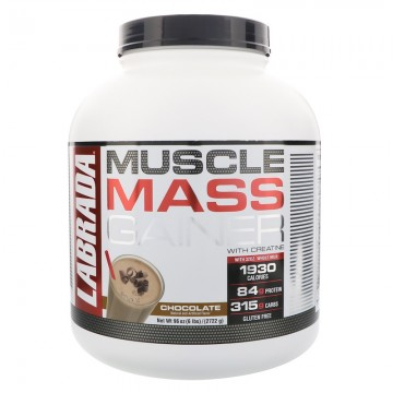 Labrada Nutrition Muscle Mass Gainer Chocolate 6 lbs (2722 g)