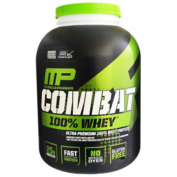 MusclePharm Combat 100% Whey Protein 80 oz (2269 g)