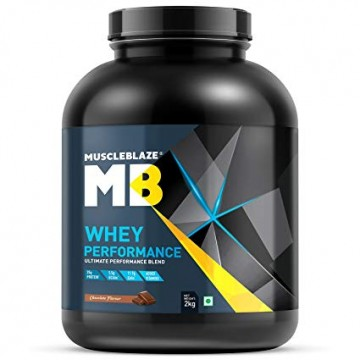 MuscleBlaze 70% Whey Performance Protein 2kg