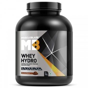 MuscleBlaze Whey Hydro Whey Protein Isolate 2 Kg